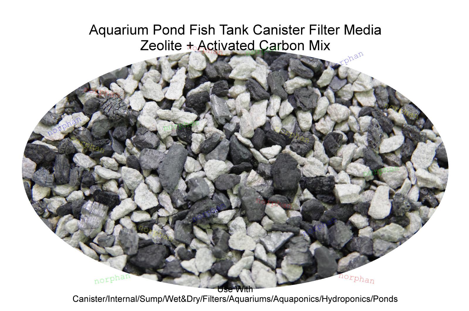1kg 10kg active charcoal ceramic noodles zeolite aquarium for Charcoal fish tank filter