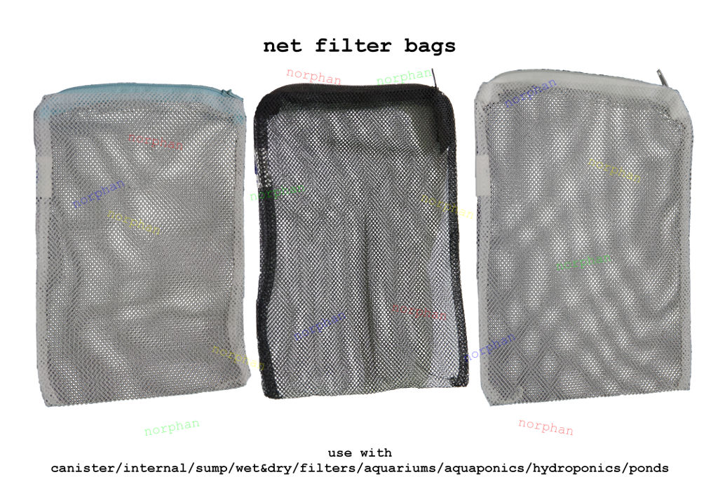 Net filter media bags canister activated carbon bio balls for Fish tank charcoal